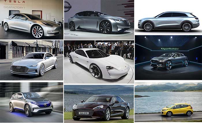 10 coches eléctricos que llegarán en los próximos 5 años