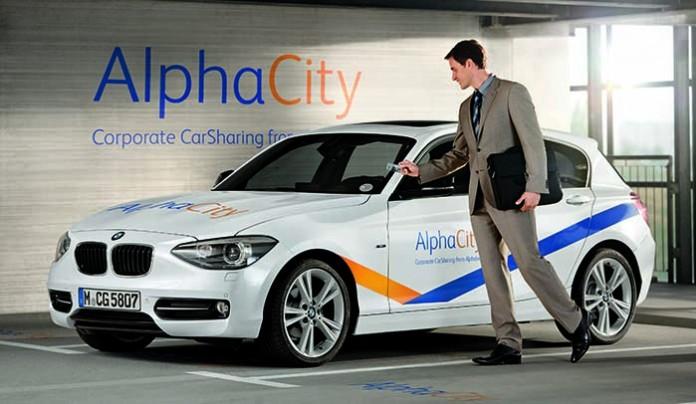 AlphaCity, car sharing de Alphabet en el Parque de Bizkaia