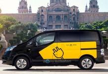 Cataluña subvenciona los taxis y vehículos comerciales eléctricos
