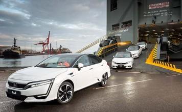 El Honda Clarity Fuel Cell llega a Europa