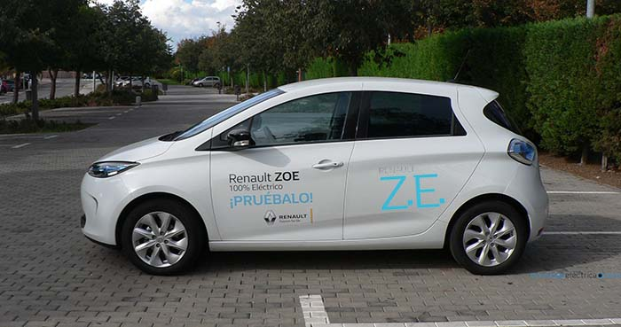 Etiqueta Renault ZE