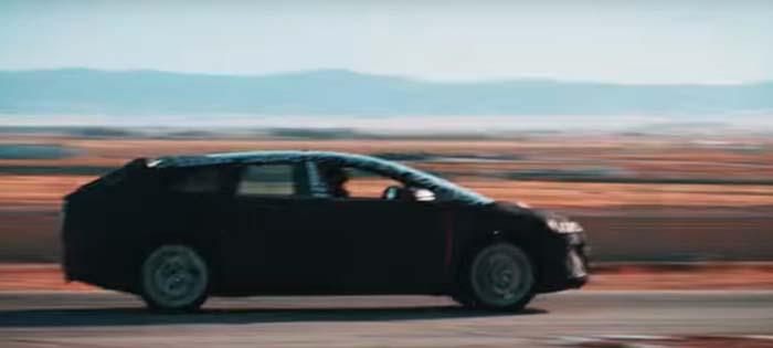 Imágenes y vídeo de Faraday Future - Imagen real camuflada en el nuevo vídeo