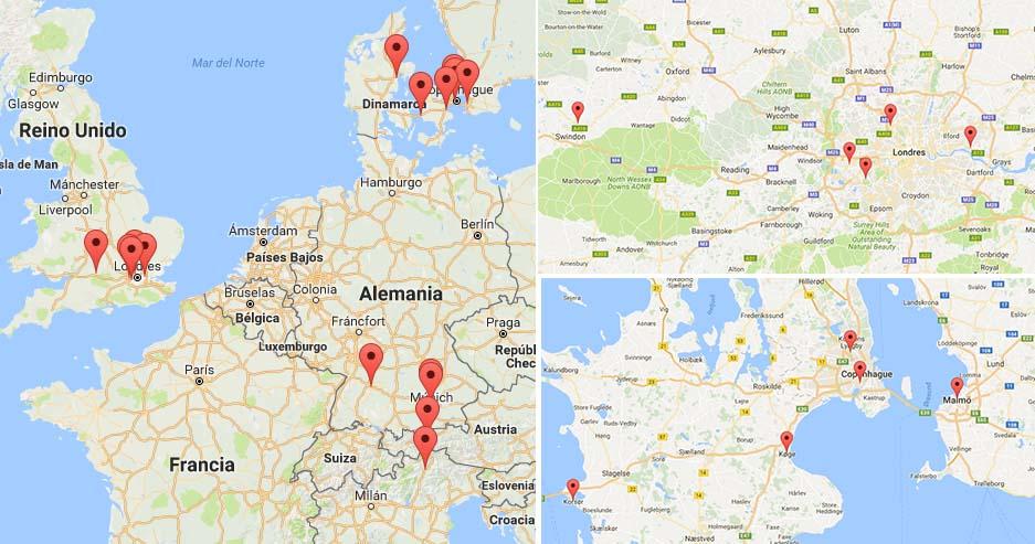 Infraestructura de recarga de hidrógeno en Londres y Copenhague
