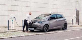 Renault utilizará CCS Combo - Renault Zoe ZE40