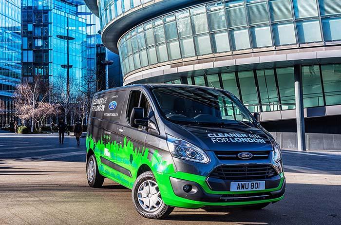 20 Ford Transit Custom Plug-in Hybrid estarána prueba en Londres durante 12 meses