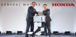 Acto de presentación de Fuel Cell System Manufacturing la joint venture General Motors y Honda