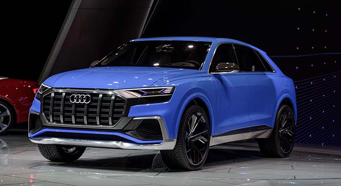 audi q8 concept h brido enchufable movilidad el ctrica. Black Bedroom Furniture Sets. Home Design Ideas