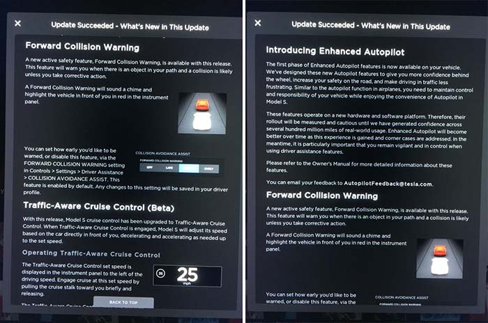 Características de la primera fase del Autopilot 2.0 de Tesla