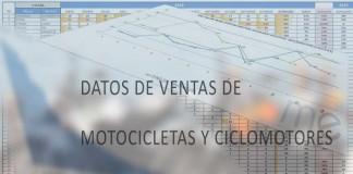 Datos de ventas de motos eléctricas