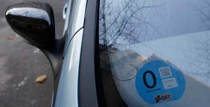 Distintivo ambiental 0 emisiones