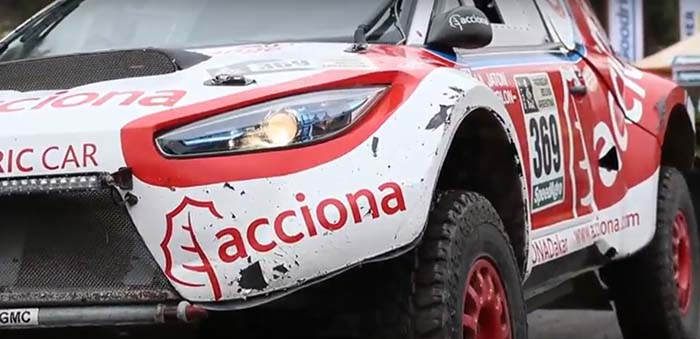 El Acciona 100% EcoPowered finaliza el Dakar 2017