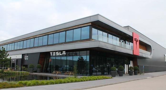 Fábrica de ensamblaje de Tesla en Tilburg-Holanda