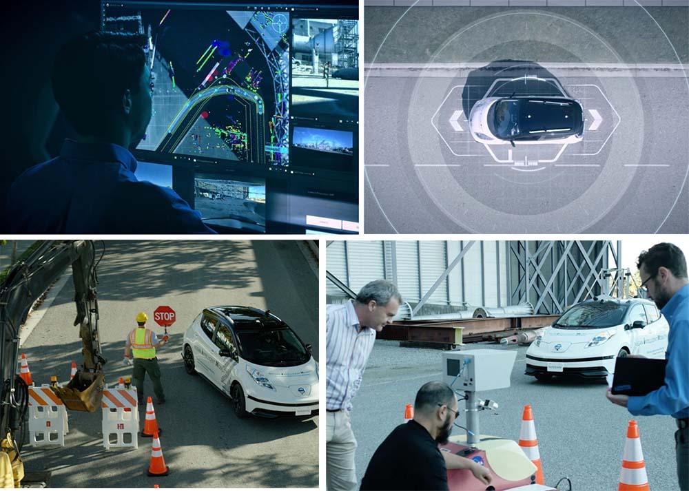 Hardware y software se unen en el Nissan Leaf para lograr que el coche conduzca y aprenda