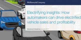 Informe sobre la rentabilidad de los coches eléctricos de McKinsey