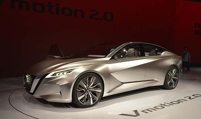 Nissan Vmotion 2.0 presentado en Detroit