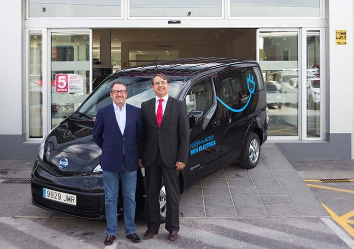 Nissan apuesta por la movilidad sostenible en Málaga