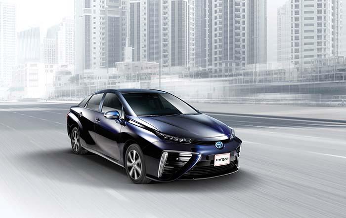 Parte del programa se centrará en la realización de demostraciones de conducción y repostaje del Toyota Mirai