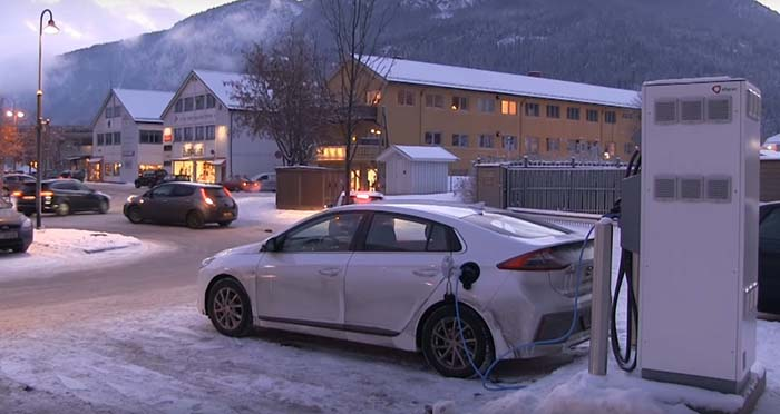 Prueba de recarga rápida del Hyundai Ioniq eléctrico