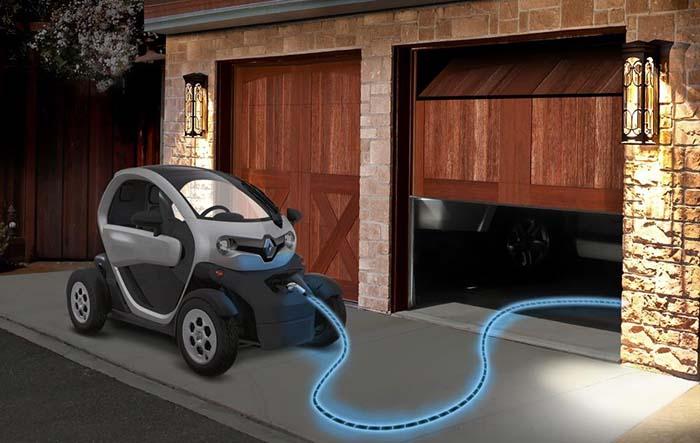 Renault y Pilot, el cable de recarga electroluminiscente