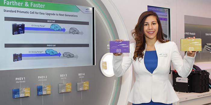 Samsung presenta sus nuevas celdas para baterías prismáticas