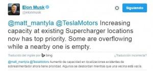 Tweet de Elon Musk