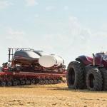 Un tractor autónomo que podría ser eléctrico