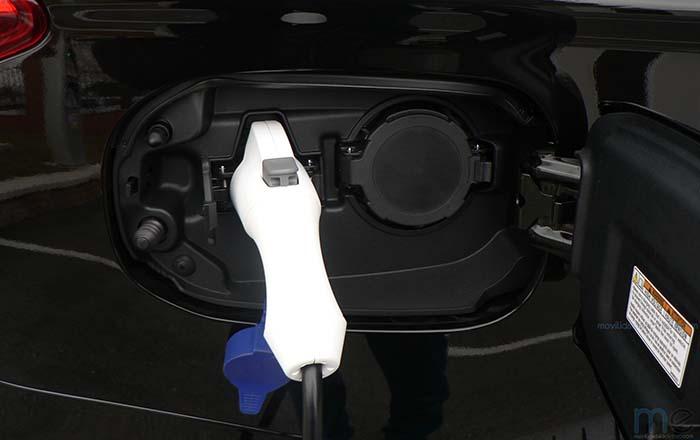 Conectores de recarga del Mitsubishi Outlander PHEV