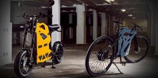ETT diseño sobre dos ruedas que parece un Meccano