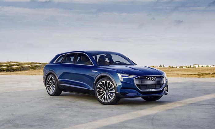 El Audi e-tron eléctrico llegará en 2018