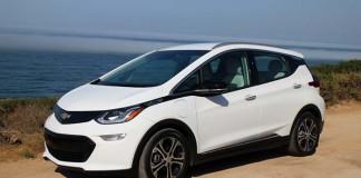 El Chevrolet Bolt es el tercer eléctrico más vendido en EE.UU
