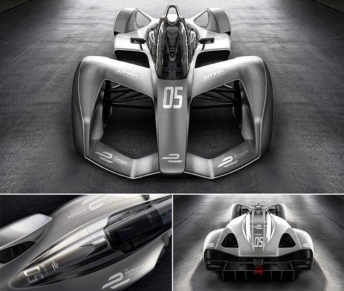 Imágenes del nuevo monoplaza de Spark Racing Technologies para la Fórmula E