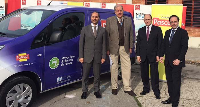Nissan, Calidad Pascual y Ayuntaimento de Madrid- Frevue