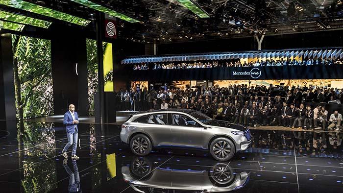 Presentación Mercedes EQ en el Salón de París