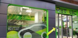 Retelec presenta sus soluciones de recarga vehículo eléctrico-tienda física en la calle Padre Damián, 33 de Madrid