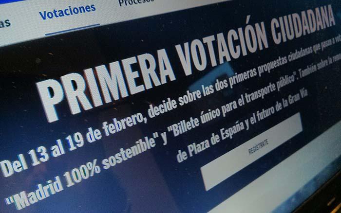 Web Madrid Decide