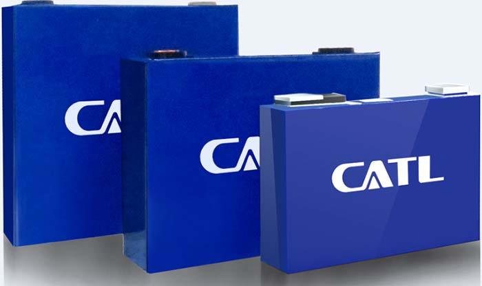 Celdas de baterías prismáticas CATL de Amperex Technology
