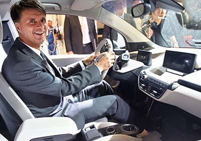 Harald Krüger, CEO de BMW
