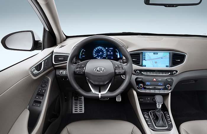 Interior del Hyundai Ioniq Plug-in