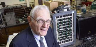 John Goodenough a sus 95 años - Foto The University of Texas at Austin