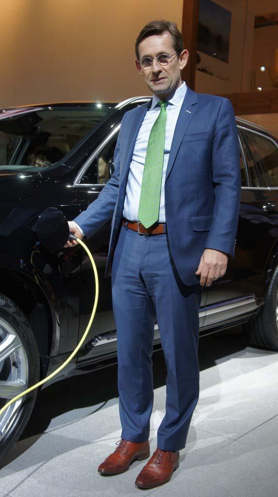 Lex Kerssemakers, CEO de Volvo