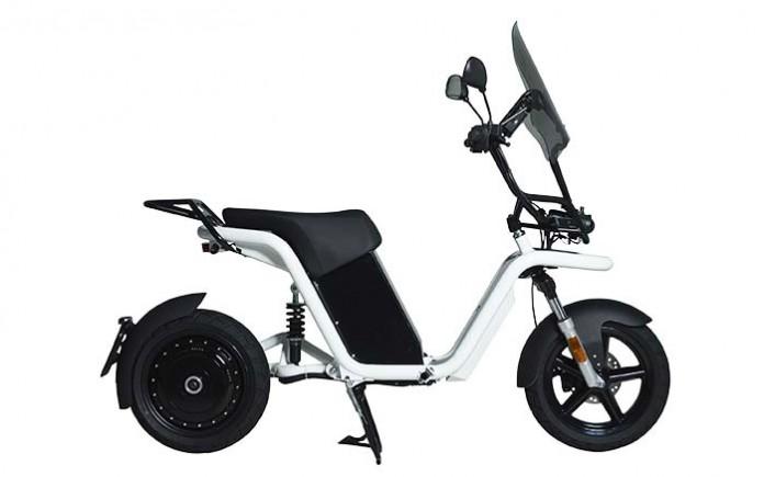 Moto eléctrica TheCore de Going Green