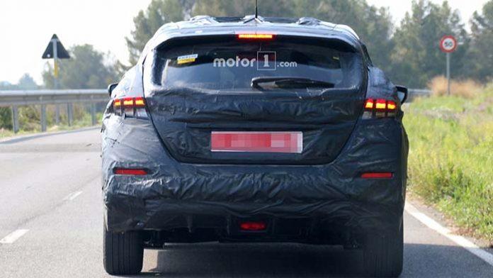 Nuevas imágenes de la próxima generación del Nissan Leaf