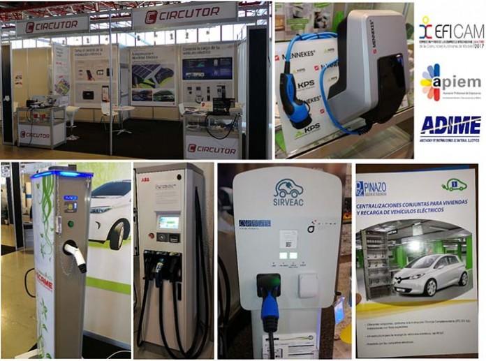 Nuevos cargadores para vehículos eléctricos en EFICAM