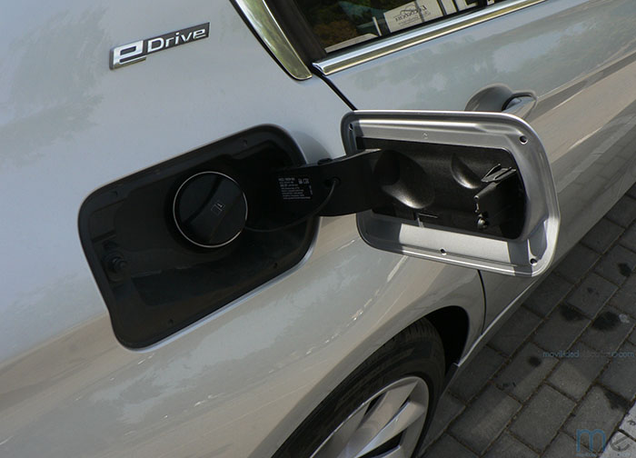 Tapa de recarga del BMW Serie 3 iPerformance