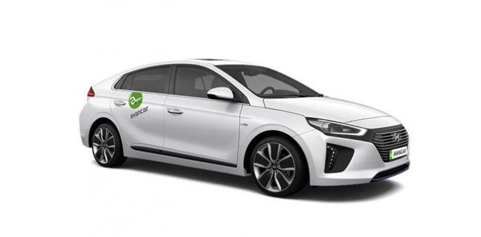 Alquila un Hyundai Ioniq con Avancar