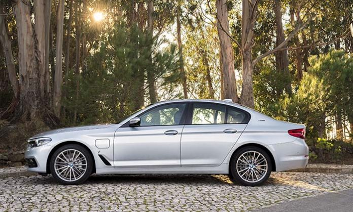 El BMW 530e iPerformance