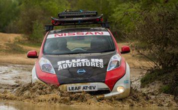 El Nissan Leaf AT-EV participa en el Rally de Mongolia