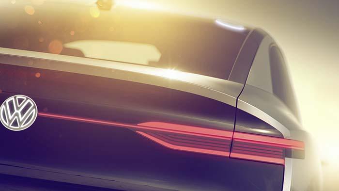 El nuevo SUV eléctrico de la familia ID de Volkswagen- trasera