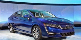 Honda Clarity Eléctrico en el Salón de Nueva York 2017