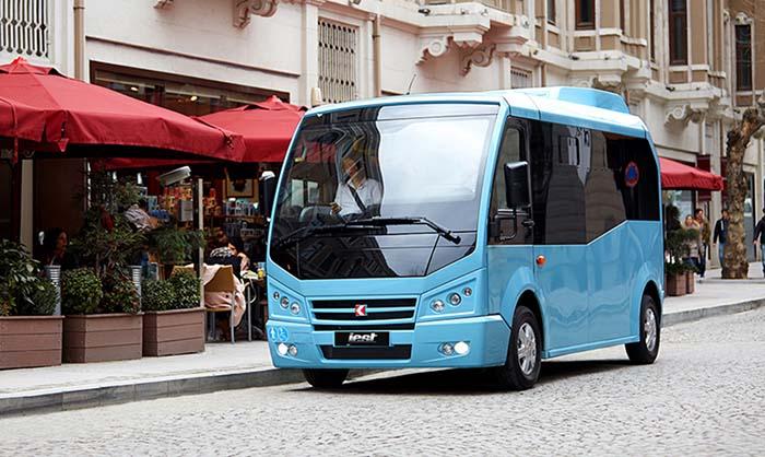 Minibús Karsan Jest de fabricación turca